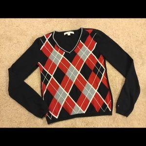 Women's Tommy Hilfiger sweater.